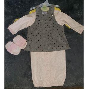 Baby Gear 3Pk Bodysuit